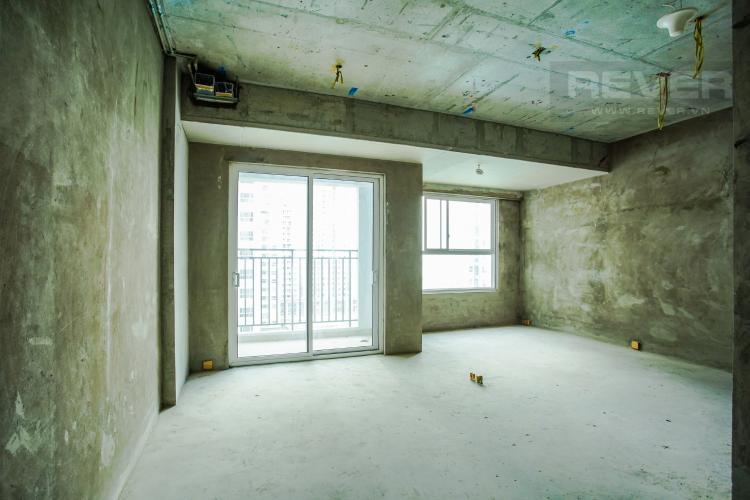 Phòng Khách Bán căn hộ Sunrise Riverside, tầng trung, diện tích 71.03m2, view sông thoáng mát, bàn giao thô