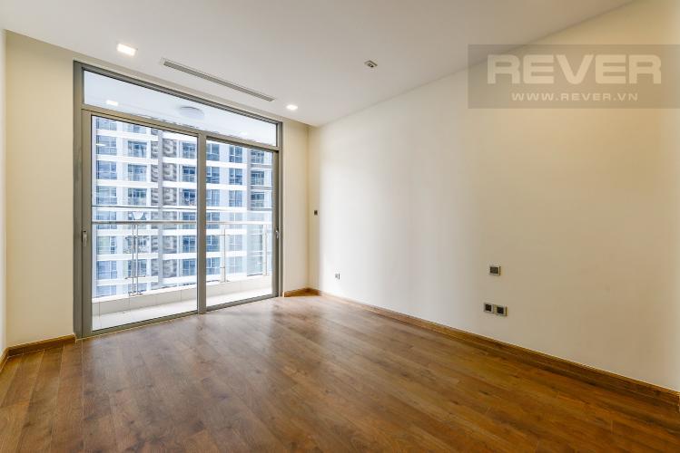 Phòng ngủ 1 Căn hộ Vinhomes Central Park 2 phòng ngủ tầng thấp P3 view hồ bơi
