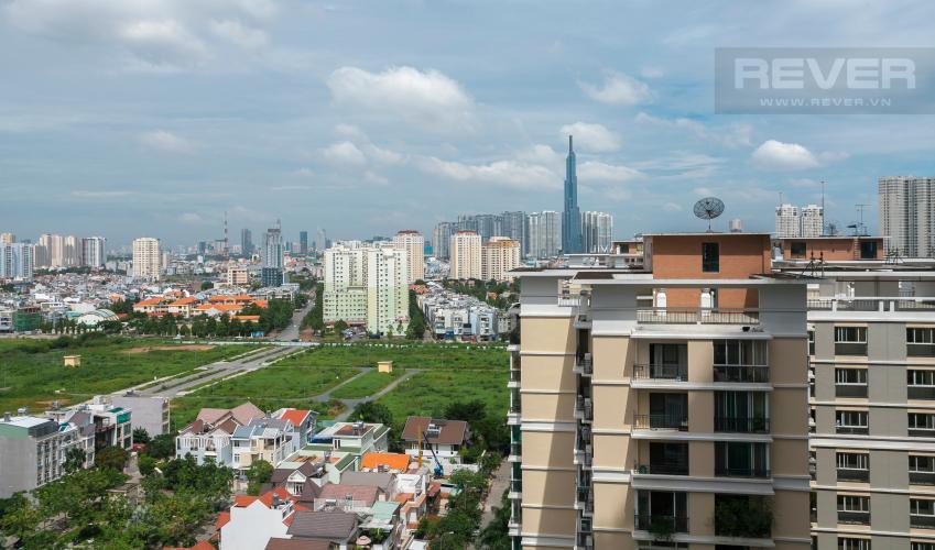 View Căn hộ Estella Heights tầng trung ,tháp T2, 2 phòng ngủ, view sông