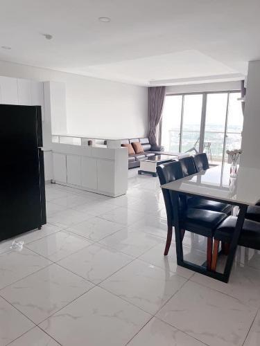 Phòng khách An Gia Skyline Căn hộ tầng cao An Gia Skyline view thành phố, đầy đủ nội thất