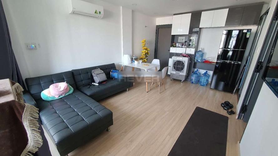Căn hộ chung cư 346 Phan Văn Trị đầy đủ nội thất, ban công rộng rãi.