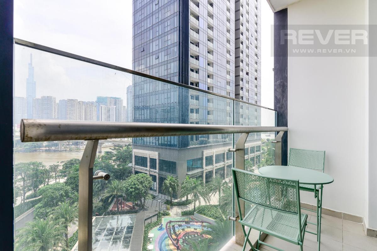 10 Cho thuê căn hộ Vinhomes Golden River 2PN, tầng thấp, đầy đủ nội thất, view sông và Landmark 81