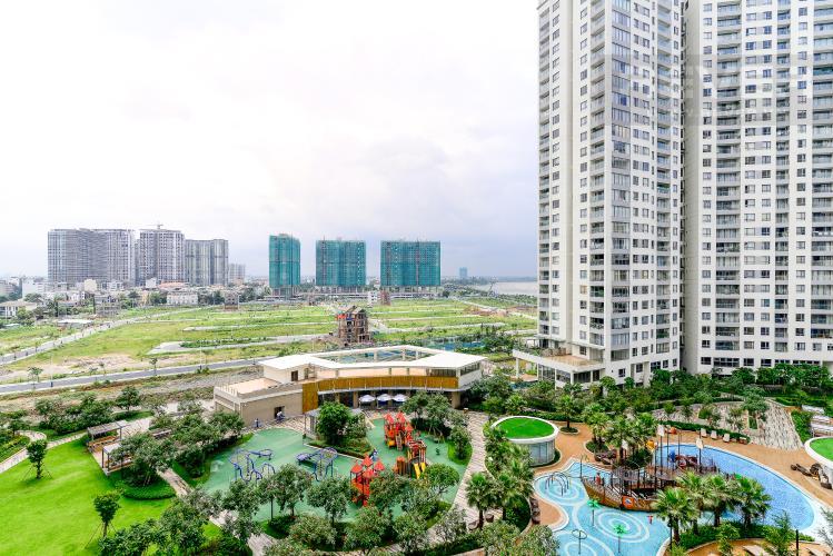 View Cho thuê căn hộ Diamond Island - Đảo Kim Cương 1PN, tầng thấp, đầy đủ nội thất, view hồ bơi