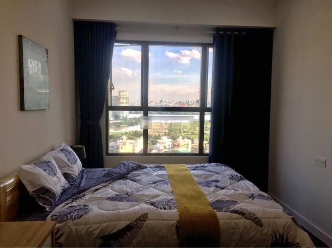 Phòng ngủ căn hộ The Sun Avenue, Quận 2 Căn hộ The Sun Avenue nội thất đầy đủ, view thành phố sầm uất.
