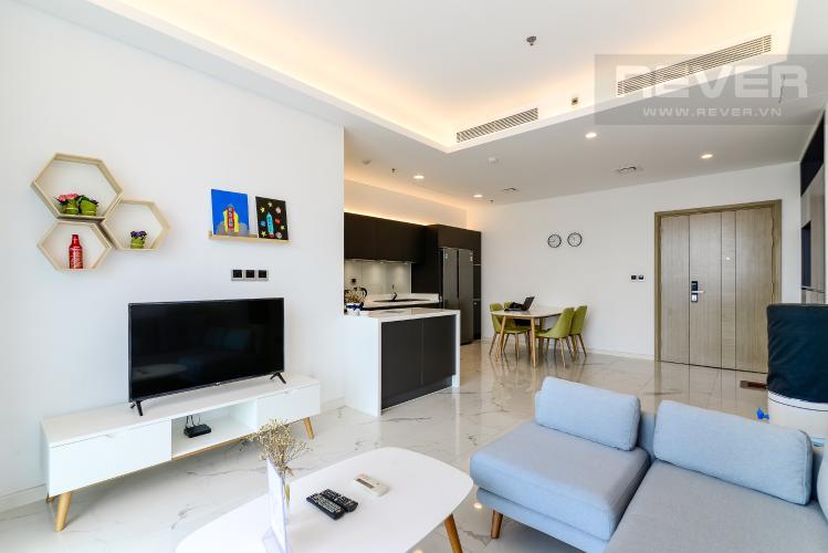 Phòng Khách Bán hoặc cho thuê căn hộ Sarina Condominium 3PN, tầng thấp, đầy đủ nội thất, diện tích 127m2