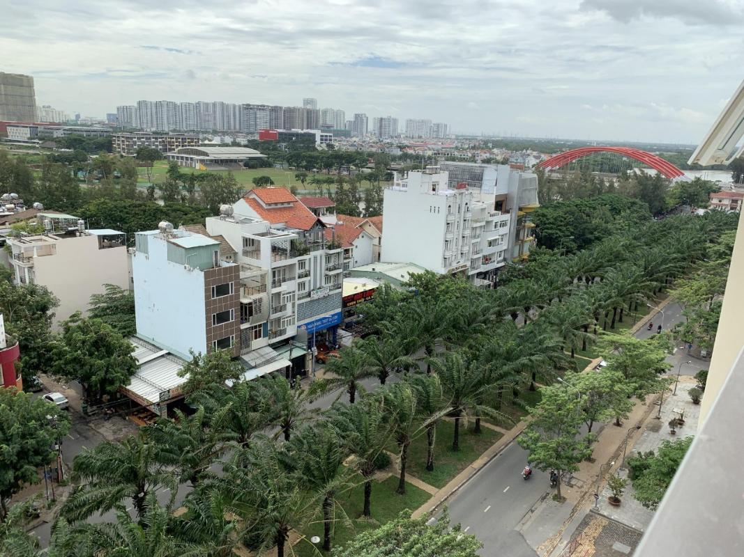 5f192ea99cf47aaa23e5 Bán căn hộ Saigon Mia 1 phòng ngủ, tầng thấp, nội thất cơ bản, hướng Đông, view khu dân cư xanh mát