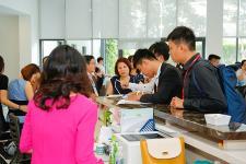 Toàn cảnh lễ khai trương nhà mẫu dự án SaFira Khang Điền