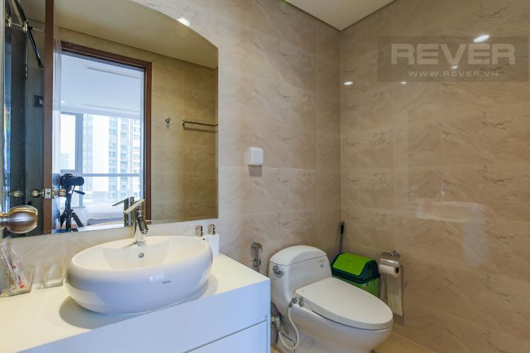 Phòng Tắm 1 Cho thuê căn hộ Vinhomes Central Park 3 phòng ngủ, đầy đủ nội thất, view nội khu