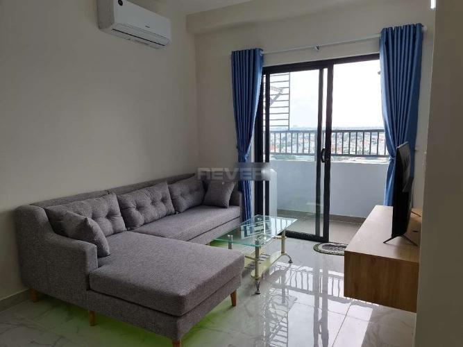 Căn hộ Fresca Riverside tầng trung, view thành phố, nội thất tiện nghi.