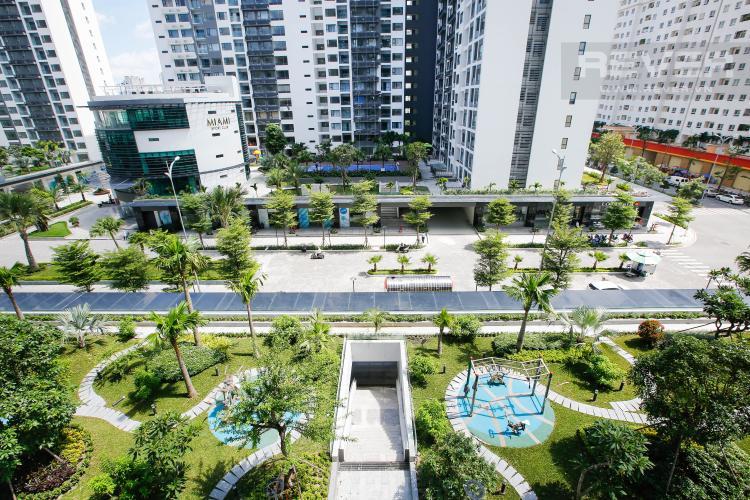 View Căn hộ New City Thủ Thiêm tầng thấp tòa Bali, 3 phòng ngủ diện tích 101.34m2, view sông.