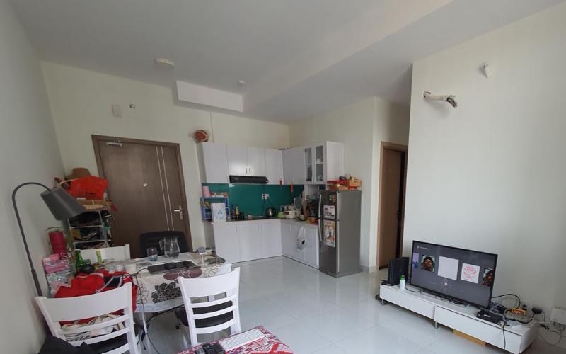 Phòng khách Jamila Khang Điền, Quận 9 Căn hộ Jamila Khang Điền tầng cao, view thành phố nhộn nhịp.