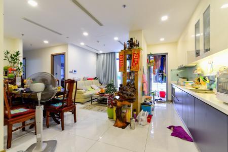 Bán căn hộ Vinhomes Central Park 3PN tầng trung tháp Park 2, đầy đủ nội thất, view sông Sài Gòn