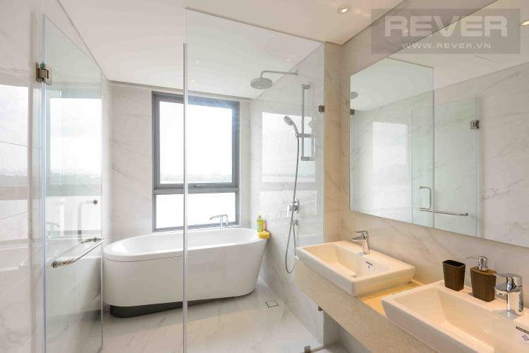 Toilet Cho thuê căn hộ Diamond Island - Đảo Kim Cương 4PN, tháp Maldives, đầy đủ nội thất, view sông thoáng mát