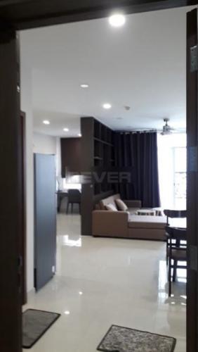Phòng khách Grand Riverside, Quận 4 Căn hộ Grand Riverside đầy đủ nội thất, view thoáng mát.
