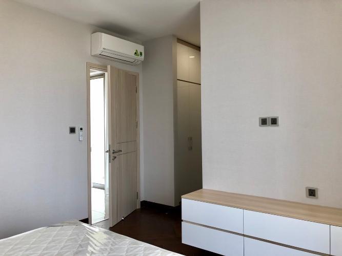 Phòng ngủ căn hộ Phú Mỹ Hưng Midtown Cho thuê căn hộ Phú Mỹ Hưng Midtown tầng trung, ban công thoáng mát.