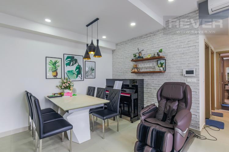 Bàn Ăn Cho thuê căn hộ RiverGate Residence 3PN, tầng cao, tháp B, đầy đủ nội thất, view sông thoáng mát