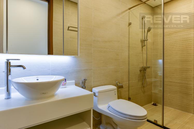 phòng tắm 2 Căn hộ Vinhomes Central Park tầng cao Park 6 nội thất đầy đủ