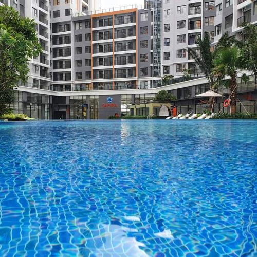 Hồ bơi Safira Khang Điền Căn hộ Safira Khang Điền tầng trung, view thành phố thoáng đãng