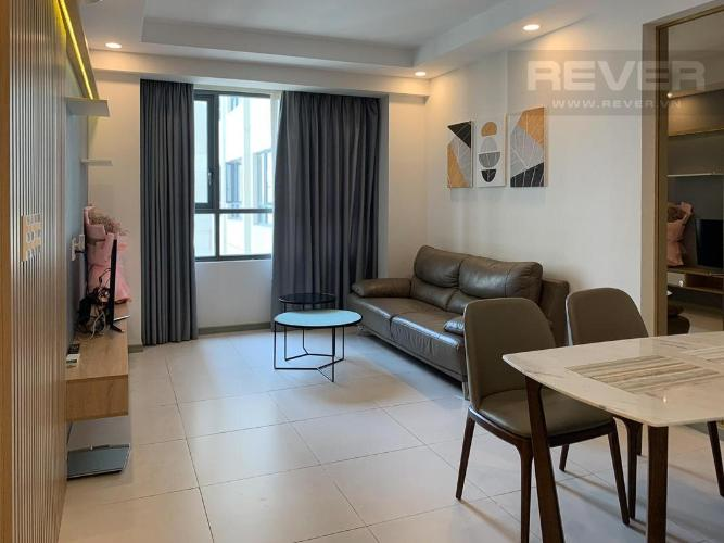Cho thuê căn hộ The Gold View 2PN, diện tích 62m2, đầy đủ nội thất, hướng ban công Đông Nam