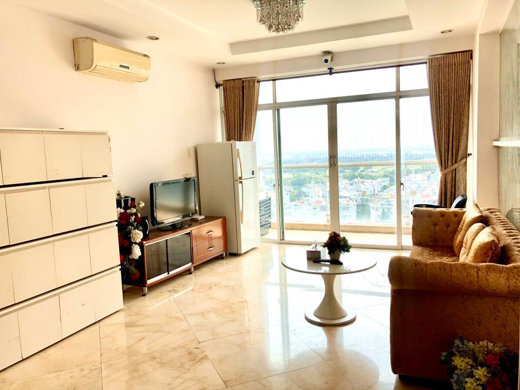 chung-cu-hoang-anh-gia-lai-3-view-phong-khach Bán hoặc cho thuê căn hộ duplex 5PN Hoàng Anh Gia Lai 3, tầng trung, diện tích 242m2, đầy đủ nội thất