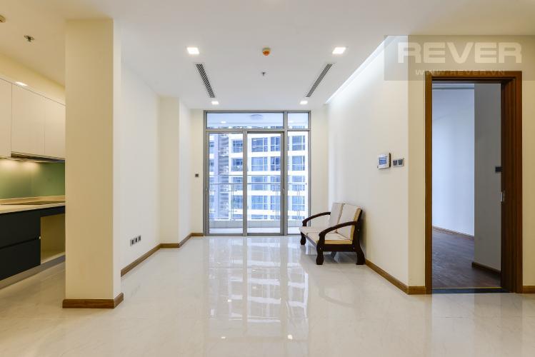 Phòng khách Căn hộ Vinhomes Central Park 3 phòng ngủ tầng thấp Park 2