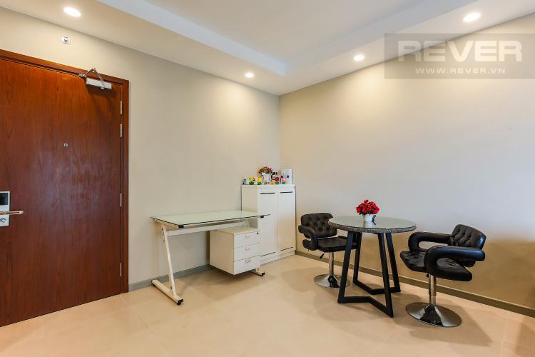 Bàn Ăn Căn hộ The Gold View 1 phòng ngủ tầng cao A3 đầy đủ nội thất