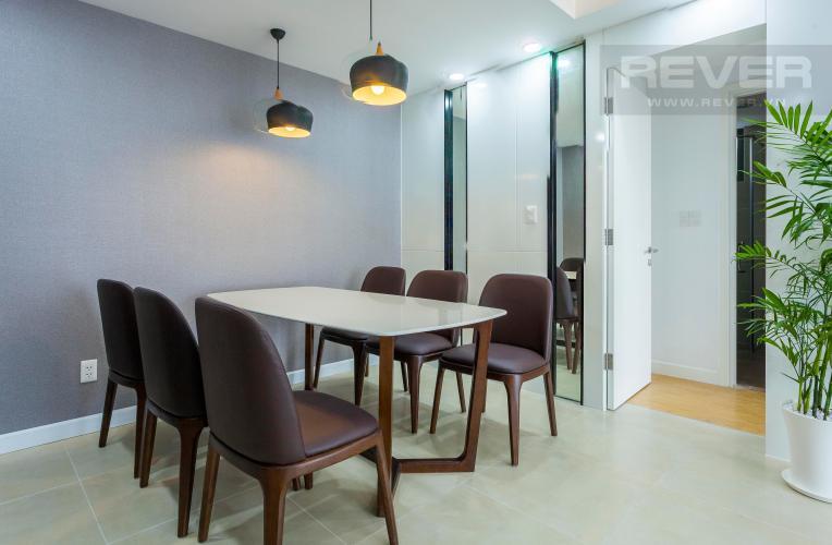 Bàn Ăn Căn hộ Masteri Thảo Điền 3 phòng ngủ tầng cao T4 view sông