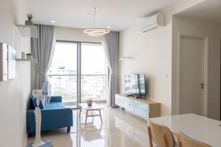 Bán hoặc cho thuê căn hộ Masteri Millennium 2PN, block B, đầy đủ nội thất, view kênh Bến Nghé