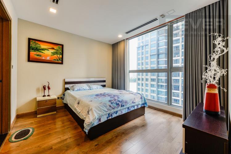 Phòng ngủ 2 Bán căn hộ Vinhomes Central Park 2PN tầng trung, view sông, đầy đủ nội thất
