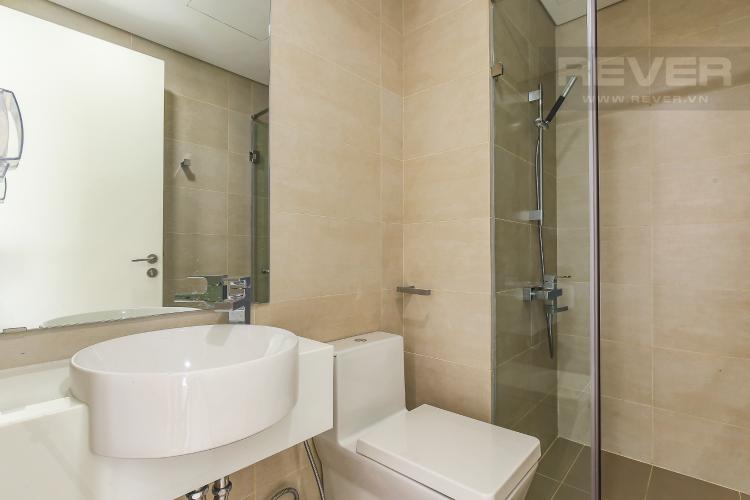 Phòng Tắm Cho thuê căn hộ Masteri Millennium tầng trung, 2PN, có ban công