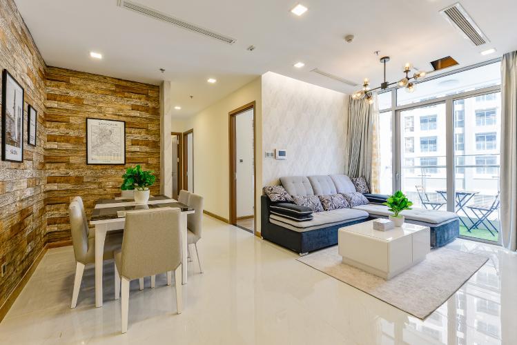 Căn hộ Vinhomes Central Park 3 phòng ngủ tầng cao P2 view sông