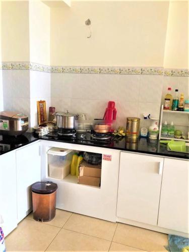 Phòng bếp căn hộ Linh Tây Tower, Thủ Đức Căn hộ chung cư Linh Tây Tower nội thất đầy đủ, view thoáng mát.
