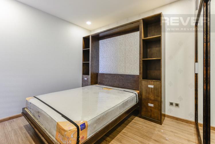 Phòng ngủ 2 OfficeTel Vinhomes Central Park 2 phòng ngủ tầng cao P7 nội thất đầy đủ