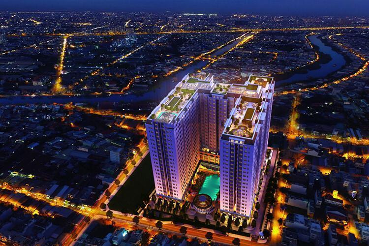 Building Dream Home Palace Quận 8 Căn hộ Dream Home Palace nội thất cơ bản, bàn giao cuối 2020.