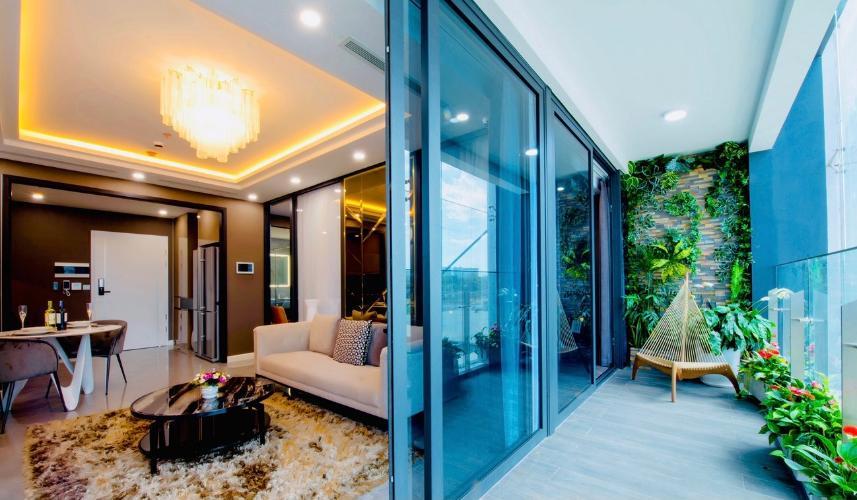 Căn hộ Sunshine Diamond River tầng thấp, nội thất cơ bản.