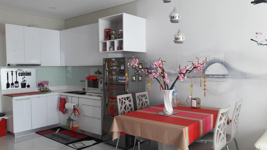 Khu vực bếp vàn bàn ăn căn hộ AN GIA RIVERSIDE Bán căn hộ An Gia Riverside đầy đủ nội thất tiện nghi.
