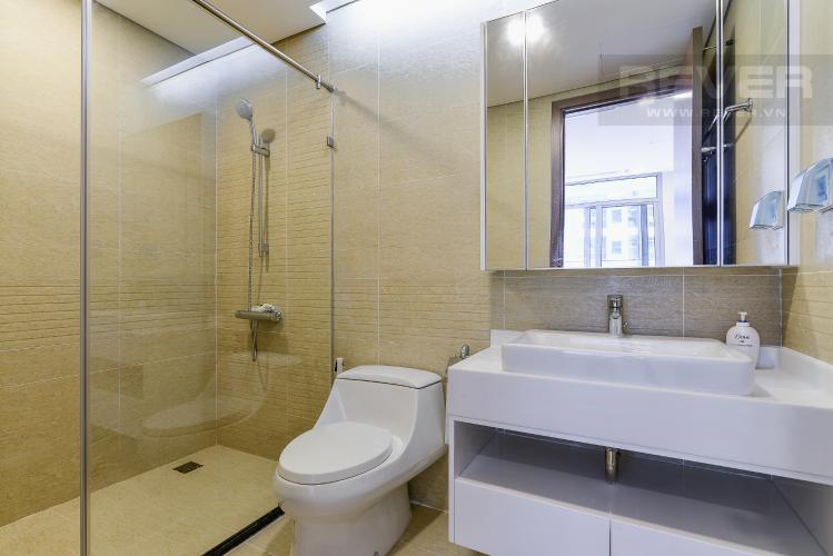Phòng tắm 1 Căn hộ Vinhomes Central Park 2 phòng ngủ, tầng trung P2, nội thất đầy đủ