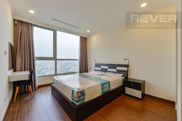 Phòng Ngủ 1 Cho thuê căn hộ Vinhomes Central Park tầng cao 2PN view sông