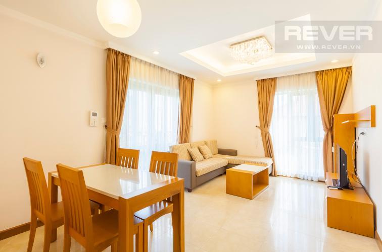 Bàn ăn 4 ghế Căn hộ Saigon Pavillon 3 phòng ngủ ngay trung tâm