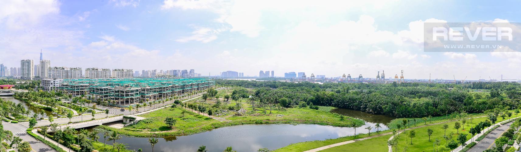 View Bán hoặc cho thuê căn hộ Sarica Sala Đại Quang Minh 3PN, đầy đủ nội thất, view công viên và hồ bơi thoáng mát