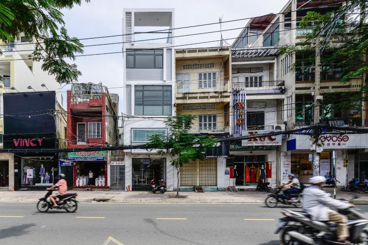 Mặt Tiền Nhà phố mặt tiền đường Lê Văn Sỹ Quận 3 tiện kinh doanh