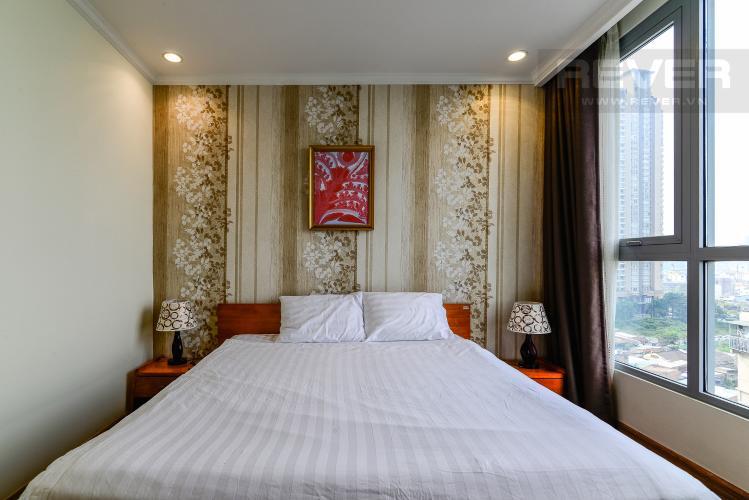Phòng Ngủ 1 Căn hộ Vinhomes Central Park 2PN đầy đủ nội thất, có thể dọn vào ở ngay