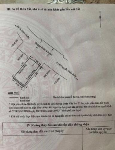Bản vẽ nhà phố Đoàn Văn Bơ, Quận 4 Nhà phố mặt tiền kinh doanh sầm uất, hướng Đông Bắc.