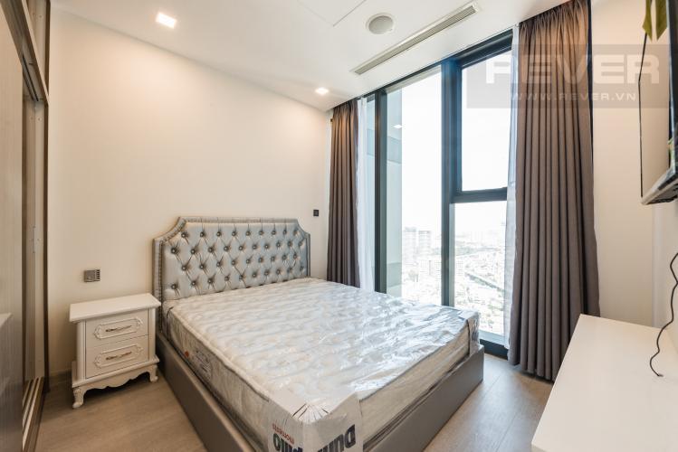 Phòng ngủ Căn hộ Vinhomes Golden River tầng cao, tháp The Aqua 2, 1PN, nội thất đầy đủ