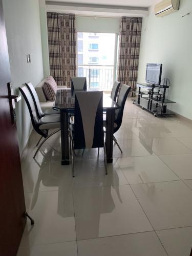 Phòng khách Carillon Apartment, Tân Bình Căn hộ Carillon Apartment tầng trung đầy đủ nội thất tiện nghi.