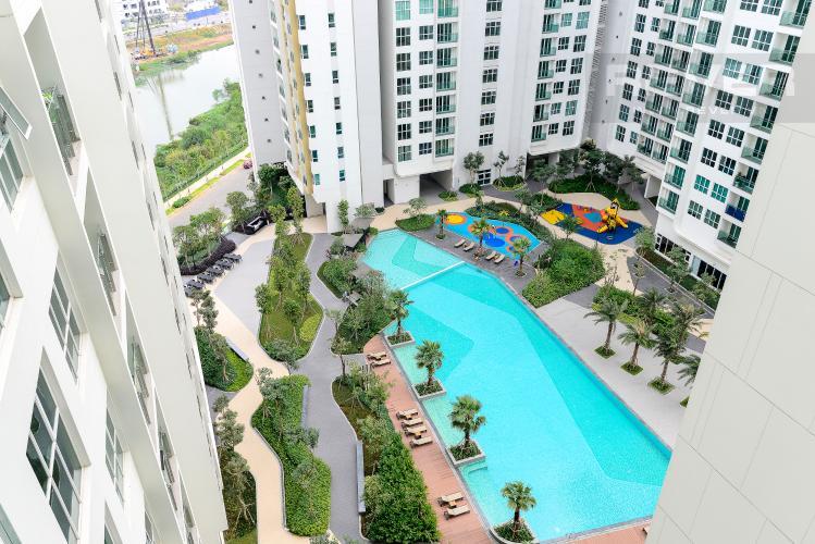 View Cho thuê căn hộ Sadora Apartment hướng Đông Bắc 2PN 2WC, view hồ bơi, nội thất cao cấp