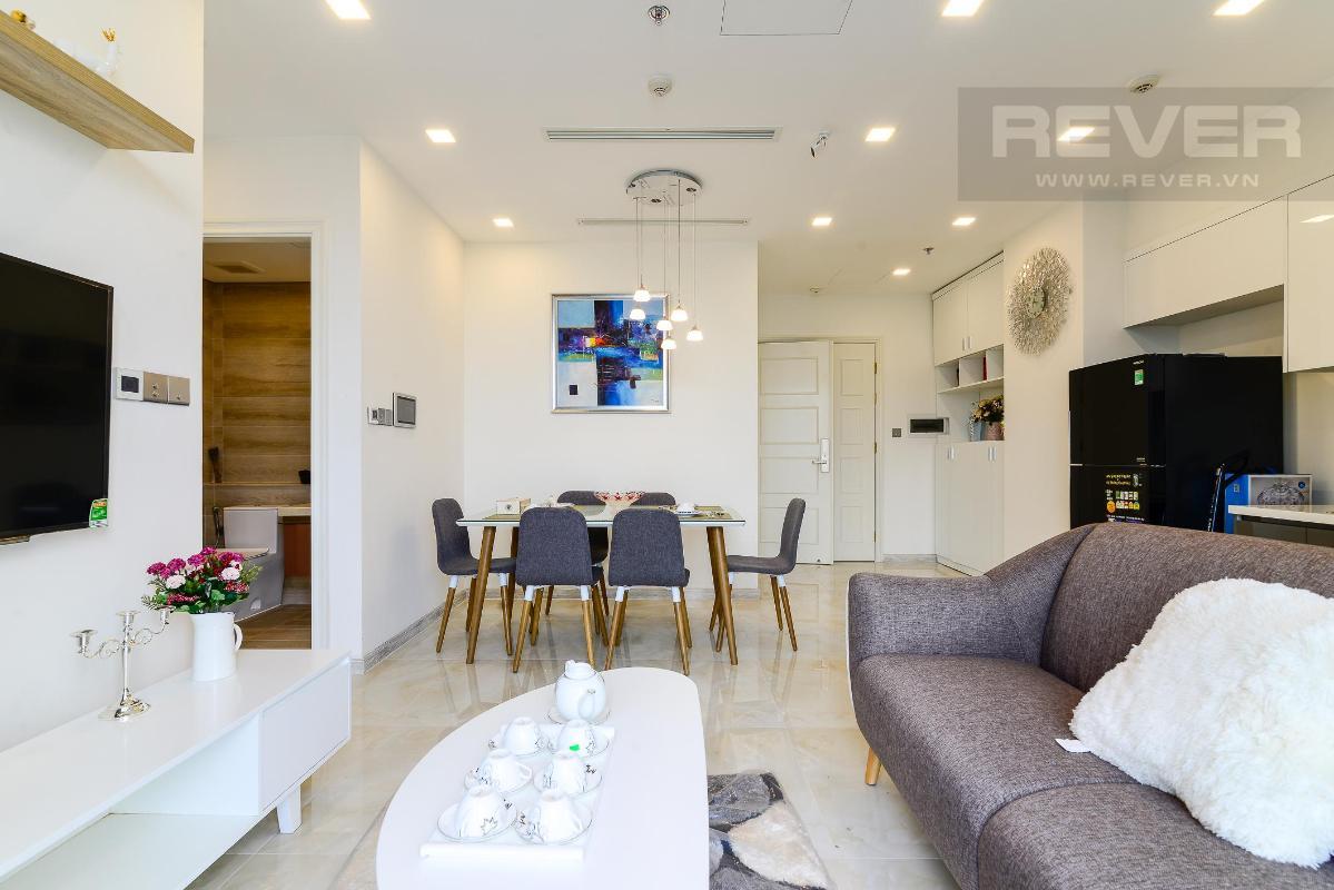 2 Cho thuê căn hộ Vinhomes Golden River 2PN, tầng thấp, đầy đủ nội thất, view sông và Landmark 81