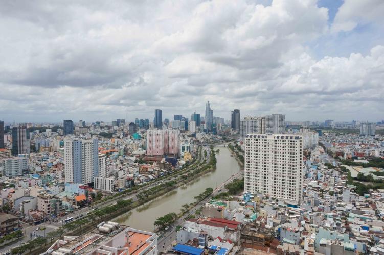 Bán căn hộ The Gold View 1PN, tháp A, đầy đủ nội thất, view sông và Bitexco