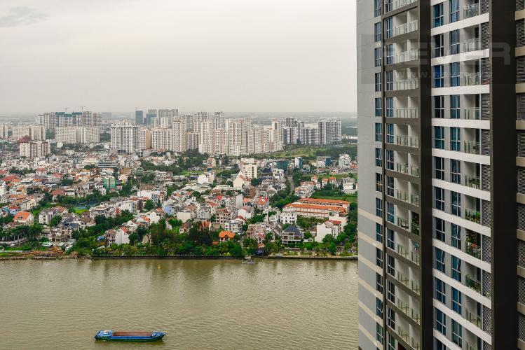 View Căn hộ Vinhomes Central Park tầng cao, Park 3, 3 phòng ngủ, view sông.