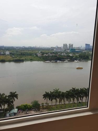 View Saigon Pearl, Bình Thạnh Căn hộ Saigon Pearl tầng trung. nội thất cơ bản, view thành phố.